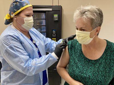 COVID-19 Vaccinations Underway